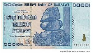 zimbabwe 100 trillion dolla